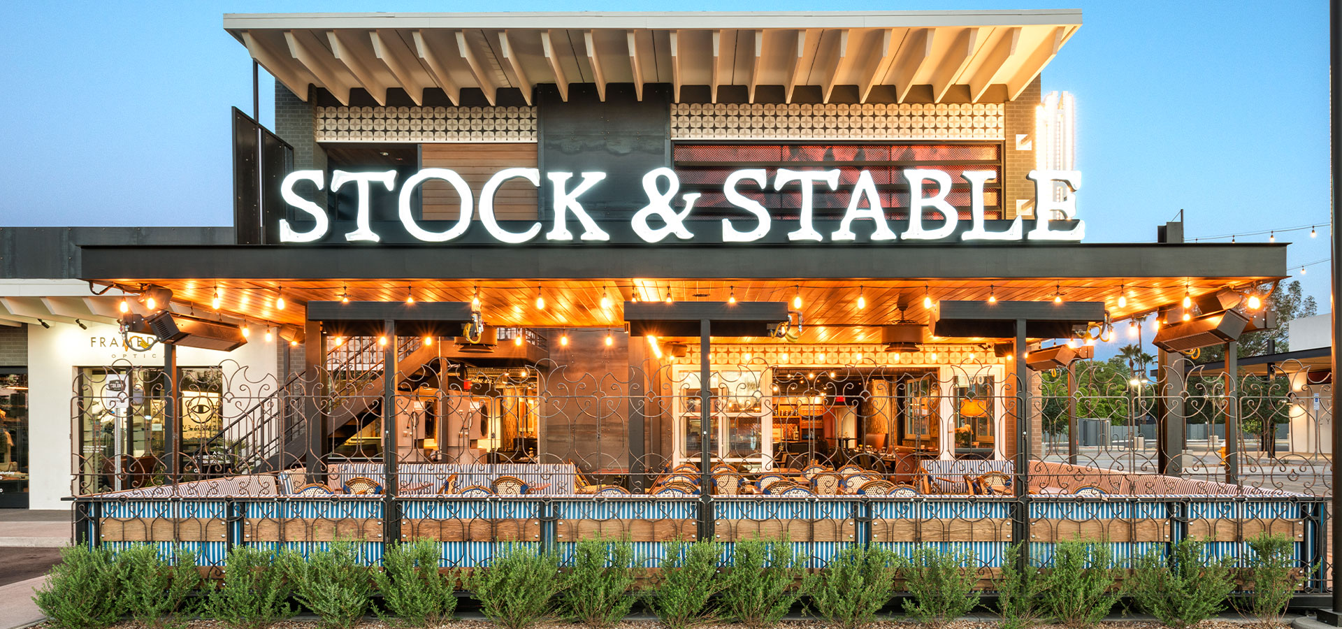 Stock And Stable A Modern American Gastropub